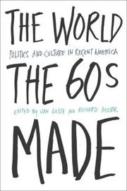 Cover of: The world the sixties made |