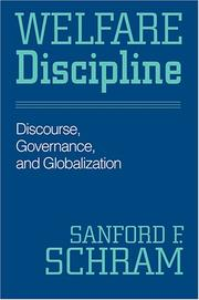 Cover of: Welfare discipline