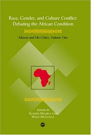Cover of: Race, Gender and Culture Conflict (Debating the African Condition : Ali Mazrui and His Critics) |