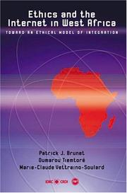 Ethics and the Internet in West Africa by Patrick J. Brunet