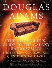 Cover of: The Hitchhiker's Guide to the Galaxy Radio Scripts