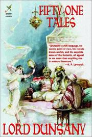 Fifty-one tales by Lord Dunsany