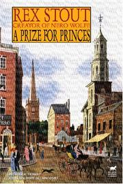 Cover of: A Prize for Princes