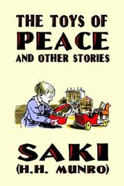 Cover of: The Toys of Peace and Other Stories