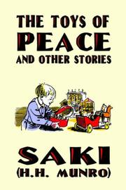 Cover of: The Toys of Peace and Other Stories | Saki