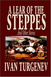 Cover of: A Lear of the Steppes and Other Stories