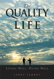 Cover of: The Quality of Life