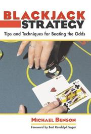 Cover of: Blackjack Strategy | Michael Benson