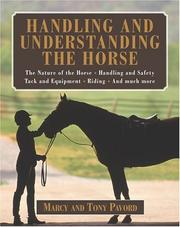 Cover of: Handling and understanding the horse | Marcy Pavord