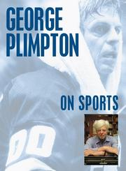 Cover of: George Plimpton on Sports (On)