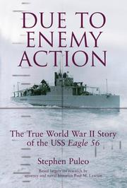 Cover of: Due to enemy action | Stephen Puleo