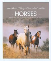 Cover of: 1001 Best Things Ever Said About Horses (1001)
