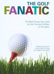 Cover of: The Golf Fanatic