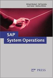Cover of: SAP System Operations | Michael Missbach