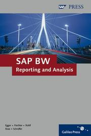 Cover of: SAP BW Reporting And Analysis | Norbert Egger