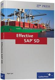 Cover of: Effective SAP SD | D. Rajen Iyer