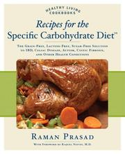 Cover of: Recipes for the Specific Carbohydrate Diet