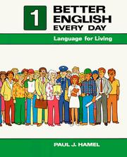 Cover of: Better English Every Day | Paul J. Hamel