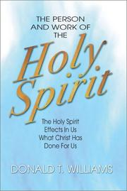 Cover of: The person and work of the Holy Spirit