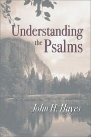 Cover of: Understanding the Psalms