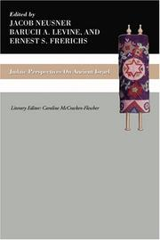 Cover of: Judaic Perspectives on Ancient Israel |