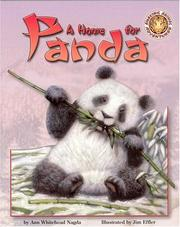 Cover of: A Home for Panda (Amazing Animal Adventures) | Ann Whitehead Nagda