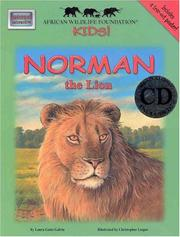 Cover of: Norman The Lion (African Wildlife Foundation Kids)