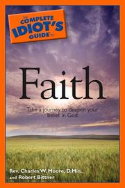 Cover of: The complete idiot's guide to faith
