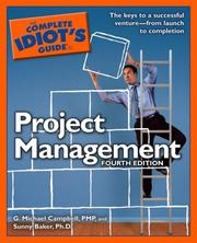 Cover of: The complete idiot's guide to project management