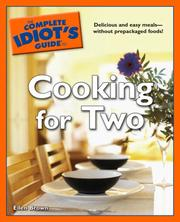 Cover of: The Complete Idiot's Guide to Cooking for Two