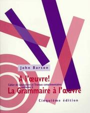 Cover of: A L'Oeuvre!