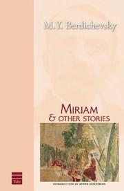 Cover of: Miriam & other stories