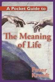 Cover of: A Pocket Guide to the Meaning of Life (A Pocket Guide to)