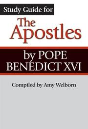 Cover of: Study Guide for the Apostles by Pope Benedict XVI | Amy Welborn