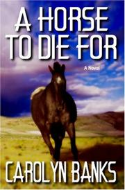 Cover of: A Horse To Die For
