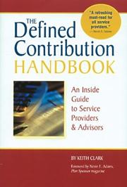 Cover of: The Defined Contribution Handbook