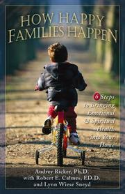 Cover of: How happy families happen