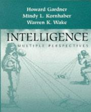 Cover of: Intelligence