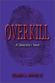 Cover of: Overkill
