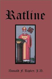 Cover of: Ratline | Donald F. Ripley