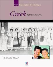 Cover of: Greek Americans
