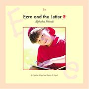 Cover of: Ezra and the letter E