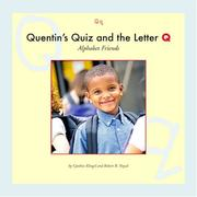 Cover of: Quentin's quiz and the letter Q