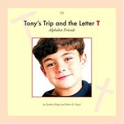 Cover of: Tony's trip and the letter T