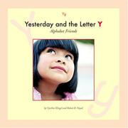Cover of: Yesterday and the letter Y