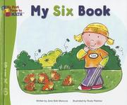 Cover of: My six book | Jane Belk Moncure