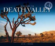 Cover of: Welcome to Death Valley National Park