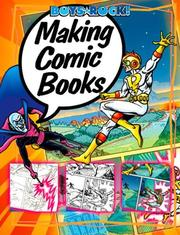 Cover of: Making Comic Books (Boys Rock!)