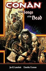 Cover of: Conan And The Songs Of The Dead