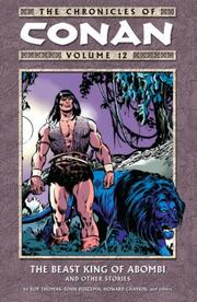 Cover of: The Chronicles of Conan Volume 12 | Roy Thomas